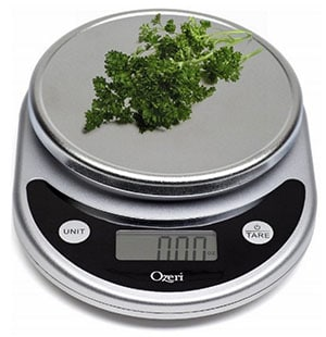 Weight Your Food on a Food Scale