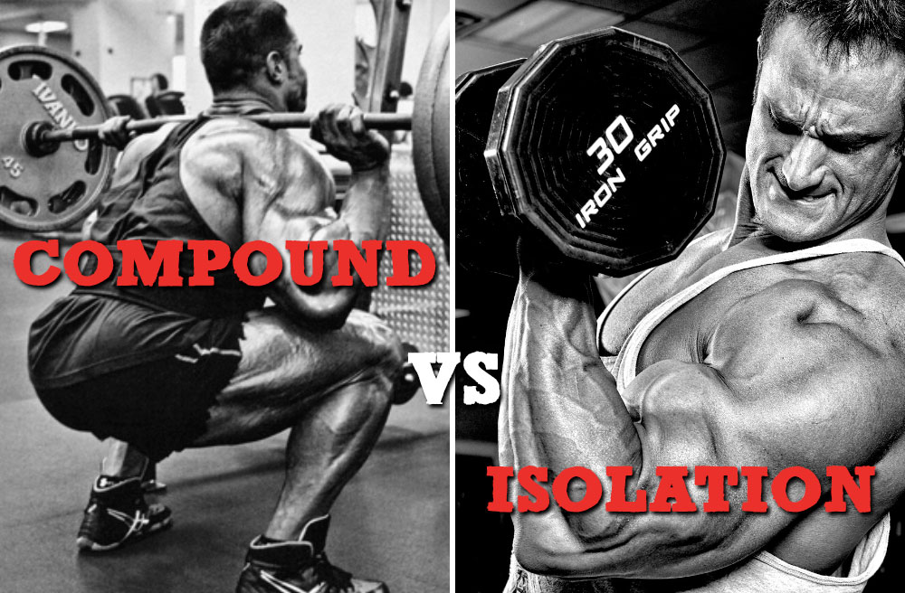Compound vs Isolation Exercises