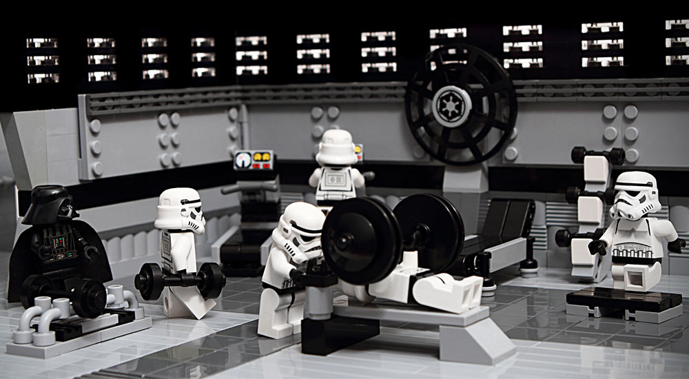 Gym Membership Intimidation with Star Wars