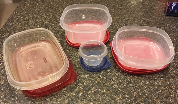 Plastic Containers Make Meal Prep Easy