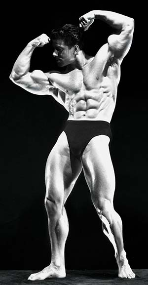 Reg Park Building Muscle Mr. Universe