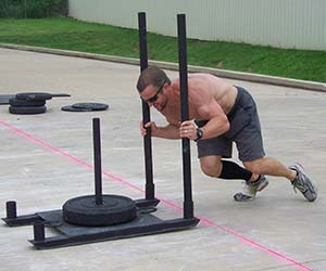 Sled Pushing for Fat Loss